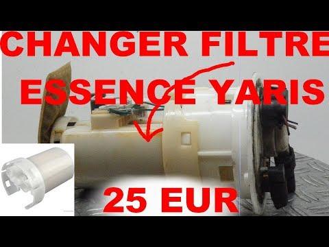 Changer Filtre à Essence Toyota Yaris