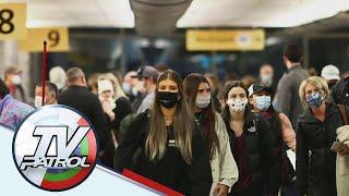 Pagsusuot ng face mask sa public transpo iminandato sa Amerika TV Patrol