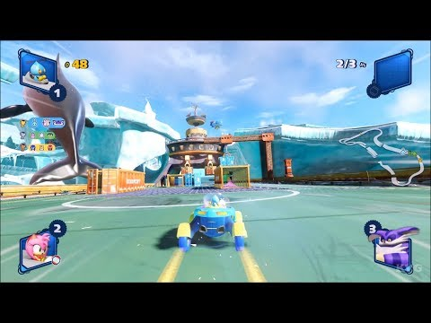 Team Sonic Racing - Chao Gameplay (PC HD) [1080p60FPS] |
