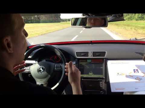 # 2 Dr. Fochler driving #Continental Cruising Chauffeur technology #IAA2017 #iaamesse #worldpremiere