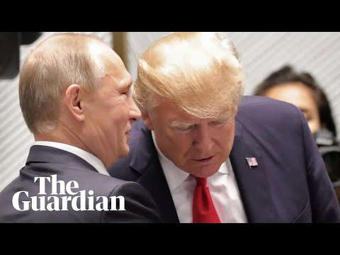 Trump and Putin chat at Apec summit
