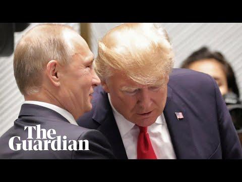 Trump and Putin chat at Apec summit
