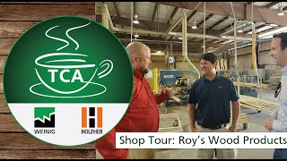 TCA on Location - Roy's Wood Products, Lugoff South Carolina