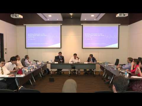 Session II: Shifting Alliances in the Middle East