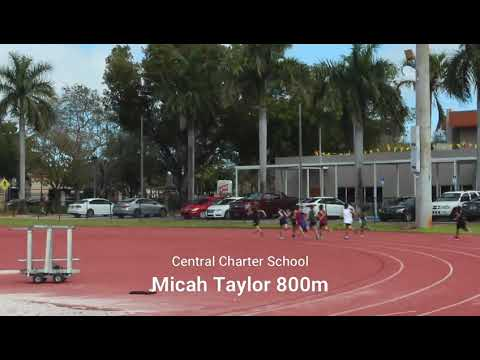Central charter schools track team all 800 and 400m from Saturday meet