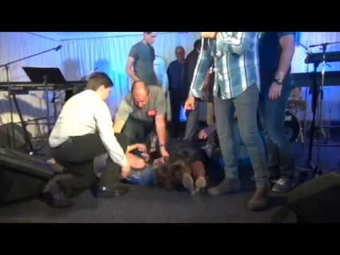 Demons cast out in Jesus' Name - John Mellor Deliverance & Miracles