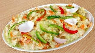 বিয়ে বাড়ির সবজি - বিয়ে বাড়ির বাবুর্চির ভেজিটেবল রান্না - Biye Barir Vegetable - Biye Barir Sobji