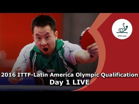2016 ITTF-Latin America Qualification Tournament - Qualification Matches Day 1