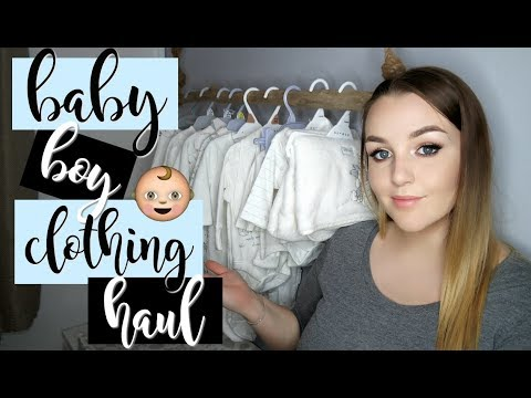 BABY BOY CLOTHING HAUL  |  Next, River Island Mini, Primark & More!