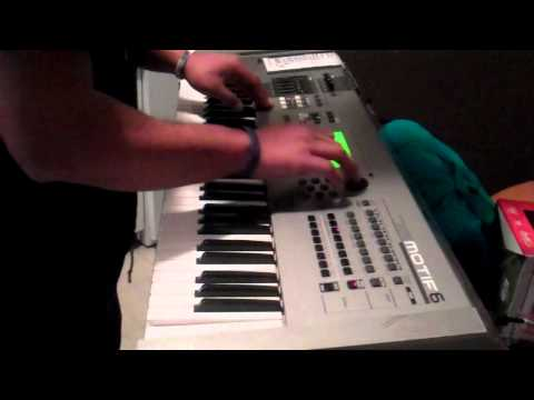 Polynesian Scott Storch Making A Hip Hop Beat W/ Freestyle (West Coast)