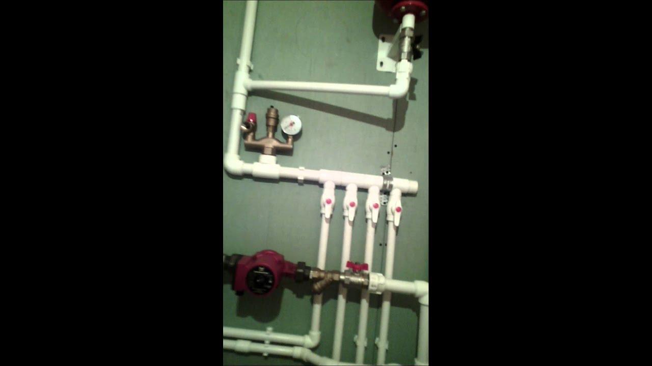 Заправка системы отопления. Ч 1