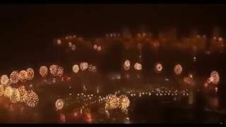 New Year's Eve Fireworks - Palm Jumeirah (Dubai) 2017