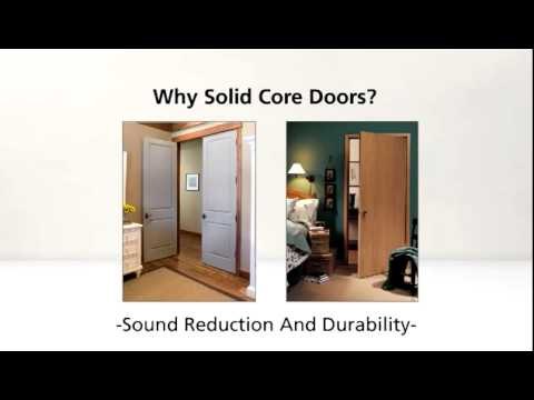How To Choose A Hollow Core Or Solid Door