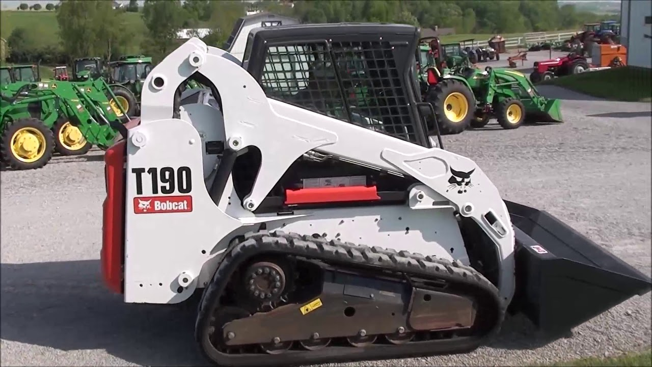 Bobcat T190 Skid Loader For Sale By Mast Tractor Youtube