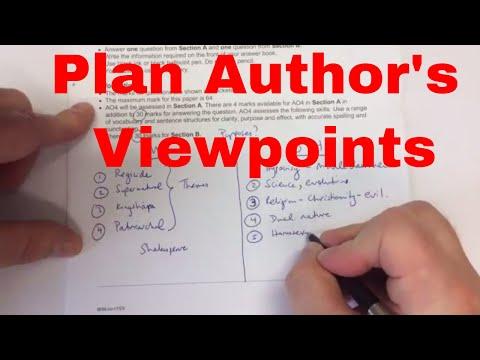 Paper 1 Literature Walk Through How to Plan