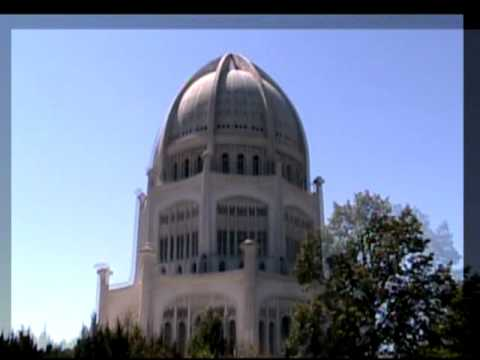 Bahai Temple Time Lapse Rotation