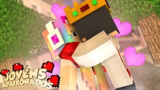 JOVENS APAIXONADOS #1 - ROUBEI UM BEIJO DELA! ‹ Minecraft ›