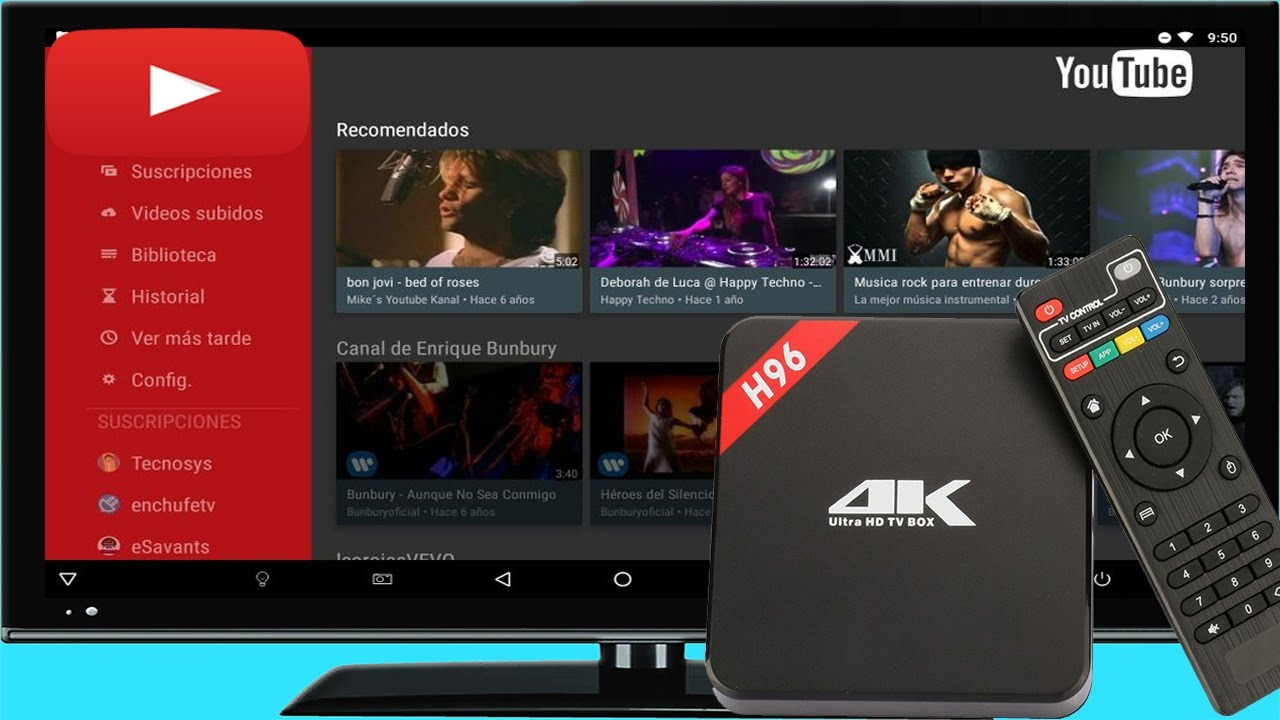 aplicacion de youtube para android tv box