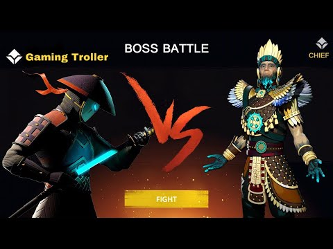 Shadow Fight 3 VS Chief Of The Islanders (second Boss Chapter 5)