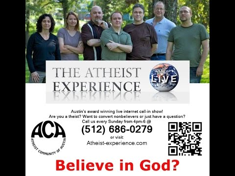 """Lost"" Atheist Experience #280 with Martin Wagner, Ashley Perrien, and Russell Glasser"