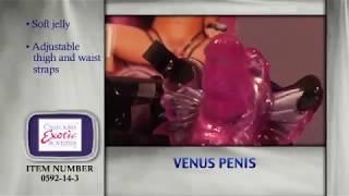Вибробабочка California Exotic Novelties Venus Penis, фиолетовая. Видеообзор