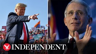 Trump says Dr Fauci is a 'very nice man'