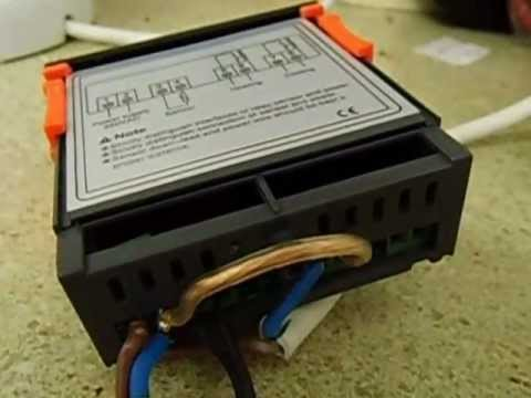 hqdefault lcd digital temprature thermostat controller wiring youtube mh1210f wiring diagram at bayanpartner.co