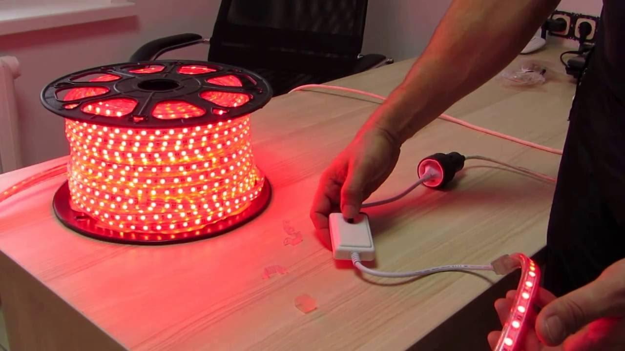 Интересует недорогая светодиодная лента на 220 вольт в спб?. У нас вы можете купить герметичную (ip68) диодную rgb ленту jazzway mvs (3528,