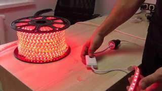 Подключаем светодиодную ленту на 220 вольт RGB(, 2016-11-02T17:10:12.000Z)