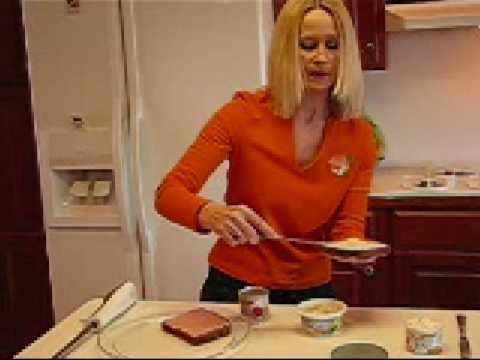 Betty's Deviled Ham-Cream Cheese Finger Sandwiches