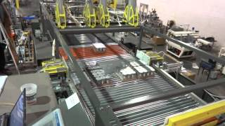 Fully Rebuilt Alvey 922 Palletizing Trays of Food Cans