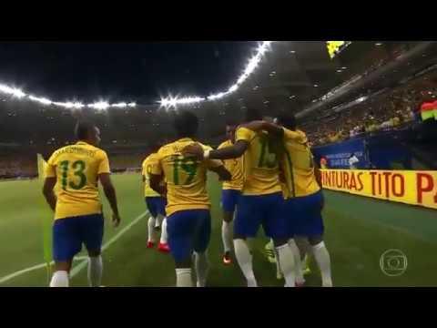 Brasil x Colômbia  Eliminatórias da Copa 2018 Jogo Completo
