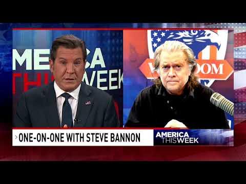 Steve Bannon on social media censorship with Eric Bolling