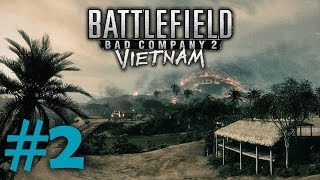 Battlefield Bad Company 2: Vietnam | Gameplay Ep.2 | Operation Hastings | Conquest