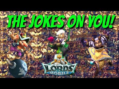 Joker Vs Multiple Titans! - Lords Mobile