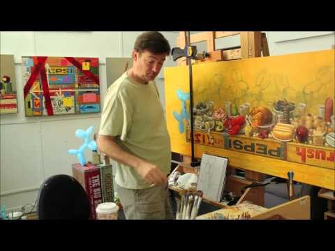 """Robert C. Jackson Time Lapse Painting """"The Feast"""" (Extended Version)"""