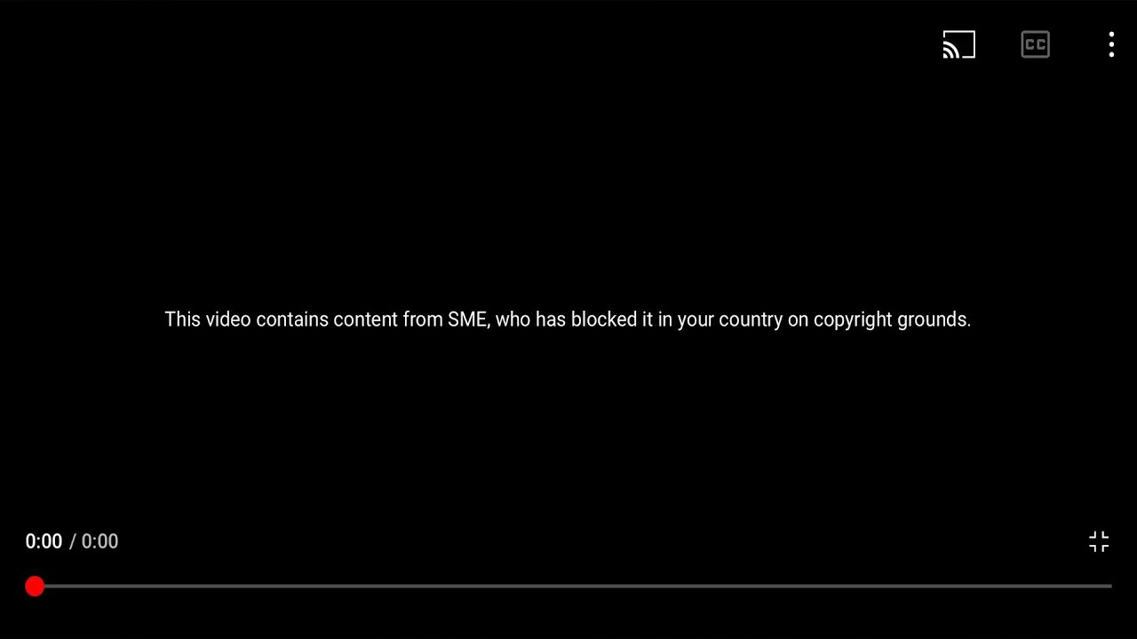 YouTube Blocked This Video.