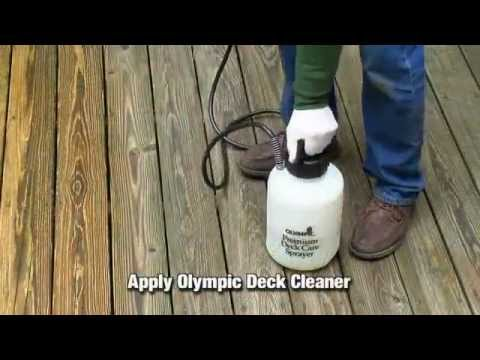 How To Clean And Prepare A Wood Deck For Staining
