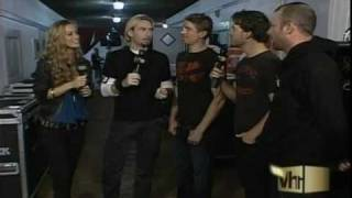 Nickelback Interview (Live & Loud)