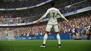 FİFA 2016 Cristiano Ronaldo Amazing Curve Goals HD