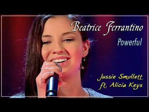 "Beatrice Ferrantino, ""Powerful"" - The Voice of Italy, Blind Audition"