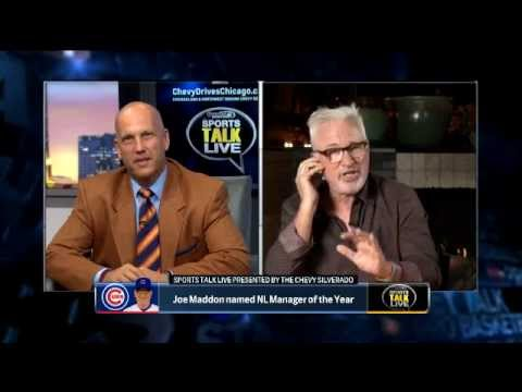 SportsTalk Live: Maddon On Winning NL Manager of the Year Award