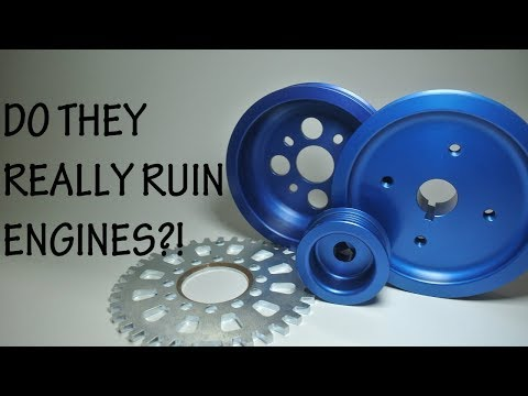 Technotoytuning lightweight pulleys vs. stock pulleys - bike carb conversion (itbs) part 4