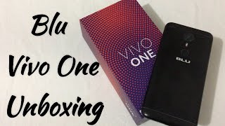 Blu Vivo One Unboxing & First Look
