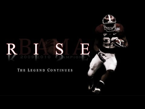 """Alabama Football Hype Video 2013-2014 """"Rise"""" The Legend Continues"""