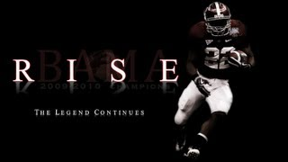"Alabama Football Hype Video 2013-2014 ""Rise"" The Legend Continues"