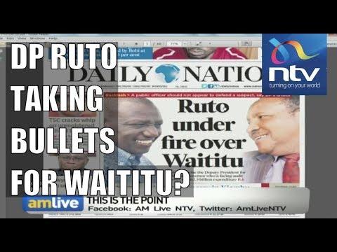 LIVE: Was DP Ruto right to defend Waititu over Kiambu budget? || AM Live