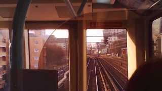DLR Shadwell to Bank.