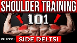 5 Deltoid Exercises for WIDER Shoulders! | Episode 1