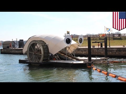Mr Trash Wheel eats over a million pounds of trash from Baltimore harbor - TomoNews
